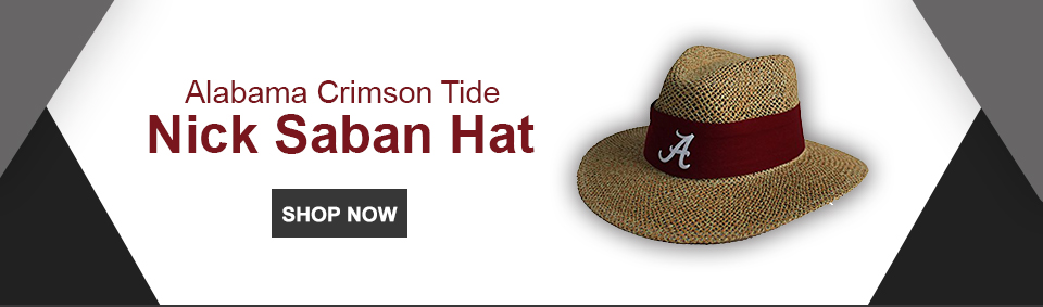 Alabama Crimson Tide Nick Saban Hat