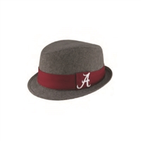Alabama Crimson Tide Tweed Fedora Hat