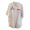 Alabama Crimson Tide White Fishing Shirt