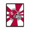 Alabama Crimson Burst Poster