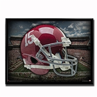 Alabama Crimson Tide Head Gear Poster