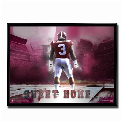 Alabama Crimson Tide Sweet Home Poster