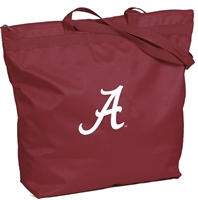 Alabama Crimson Tide Zipper Tote