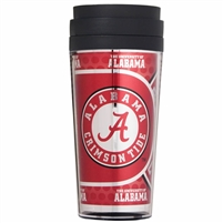 Alabama Crimson Tide 16oz Acrylic Travel Tumbler