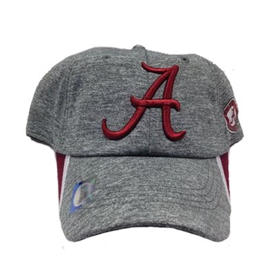Alabama Crimson Tide Heather Grey Cap