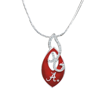 Alabama TD Crystal Necklace