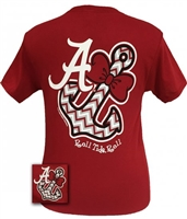 Alabama Anchor Bowtie T-Shirt