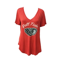 Alabama Roll Tide V-Neck Shirt