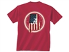 Alabama Crimson Tide Flag Fill T-Shirt