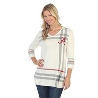 Alabama Crimson Tide Plaid Print Tunic