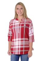 Alabama Crimson Tide Women's Plaid Tunic