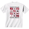 Alabama Crimson Tide Flags T-Shirt