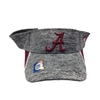 Alabama Crimson Tide Heather Grey Visor