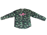 Alabama Roll Tide Youth Camo Long Sleeve Shirt