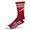 Alabama Crimson Tide 4 Stripes Socks