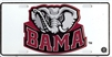 University of Alabama BAMA Elephant License Plate