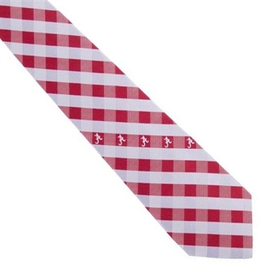 Alabama Check Poly Necktie