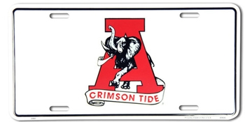 Crimson Tide License Plate