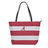 Alabama Crimson Tide Rugby Striped Tote