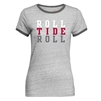 Alabama Roll Tide Roll Tomboy Women's Ringer Tee