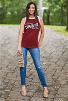 Alabama Crimson Tide High Contrast Tank