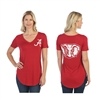 Alabama Crimson Tide Red Elephant Tee