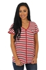 Alabama Crimson Tide Striped Dolman Tee